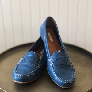 GEOX RESPIRA PENNY LOAFER. SIZE:38. EUC